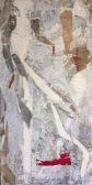 Taille: 40/80 - peinture à l'eau, pastel +papier-